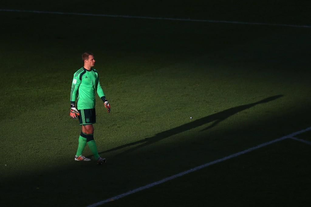 Manuel Neuer on kaiken kunnian ansainnut. (Getty)