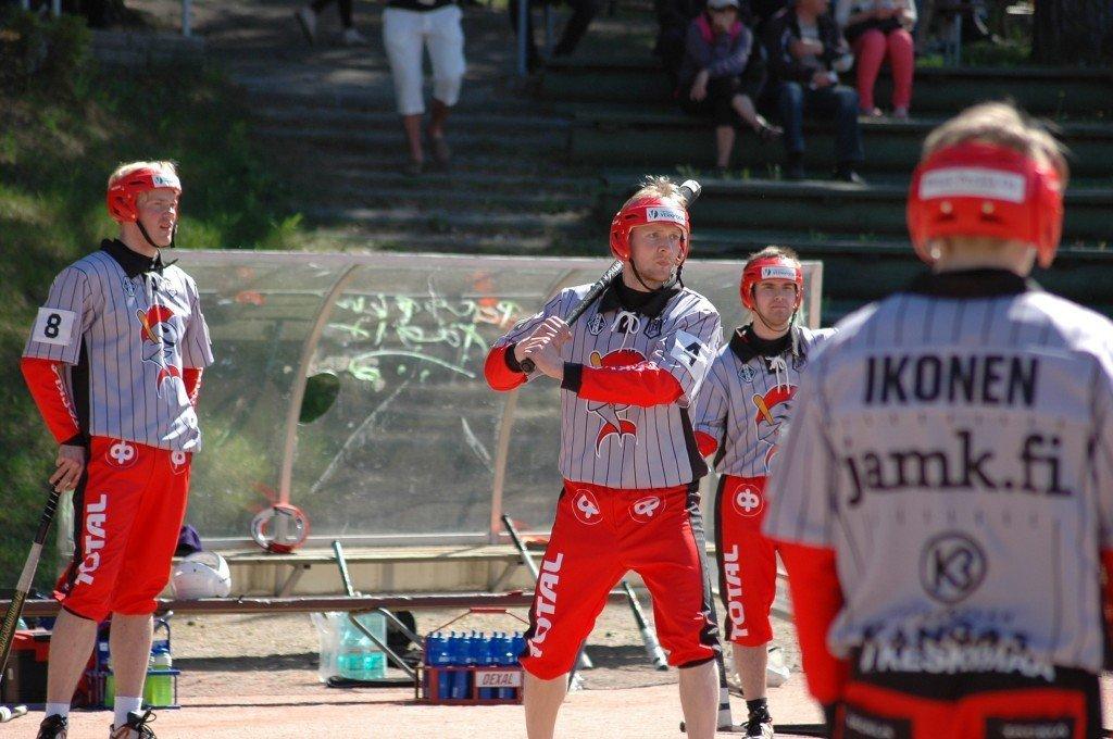 Pennanen löi vielä viime kaudella 30 juoksua Jyväskylän Lohelle. Kuva: Riku Orpana