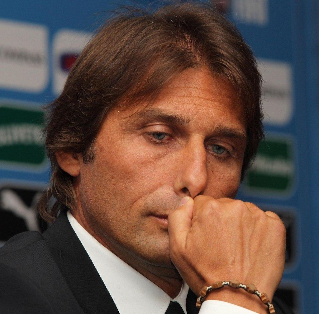 Antonio Conte voitti Juventuksen peräsimessä kolme mestaruutta ja siirtyi kesällä Italian maajoukkueen päävalmentajaksi. Kuva(Getty)