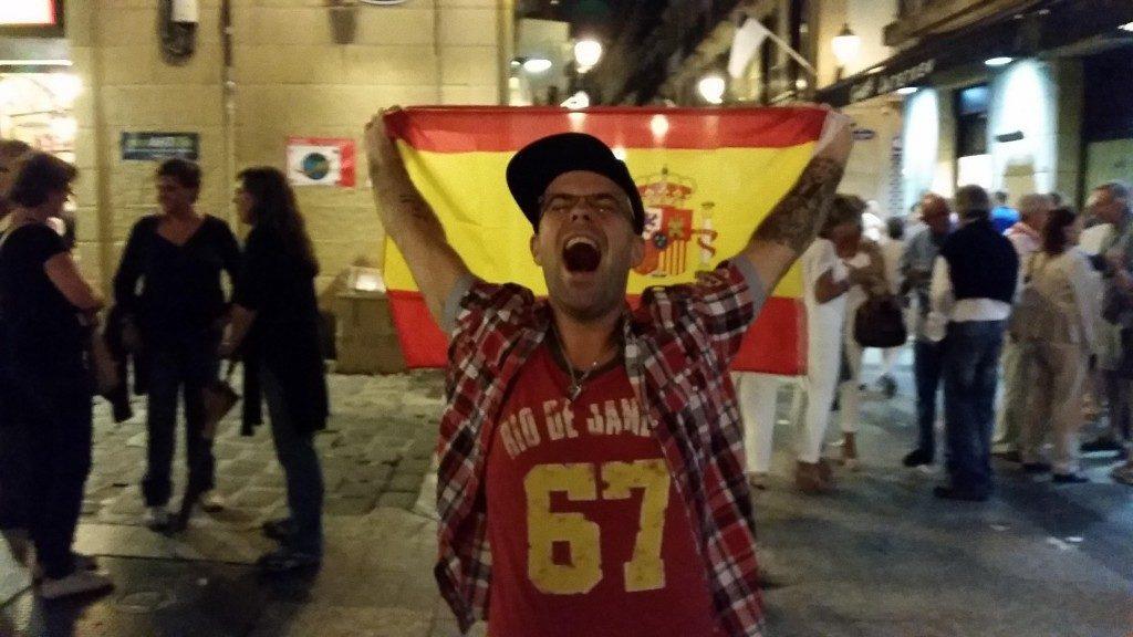 Tuli opittua, ettei Baskimaassa ei Espanjan lippua pahemmin arvosteta