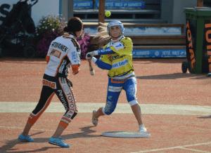 Noora Patrikainen on pelannut huikeat pudotuspelit (Kuva: Pekka Tuominen)