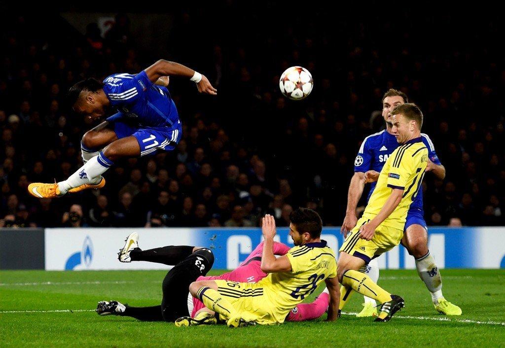 Chelsea-ikoni Didier Drogba on valmis hyppäämään avaukseen. Kuva: Getty