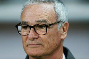 Claudio Ranieri. Kuva:Getty
