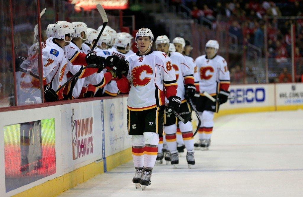 Markus Granlund on pelannut itsensä Flamesin kokoonpanoon pysyvästi (Getty)