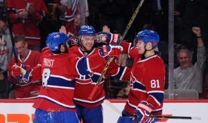 Montreal Canadiensilla kulkee (Getty)
