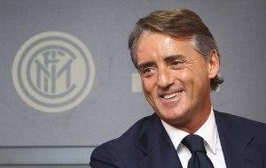 Interin uusivanha päävalmentaja Roberto Mancini. (Getty)