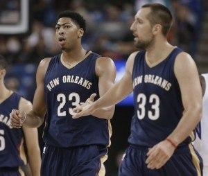 Onko Davis seuraava MVP? (AP Images)