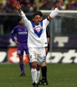 ll Divino Codino, Roberto Baggio. (Getty