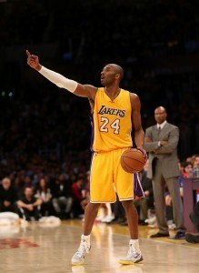 Kobe Bryant on NBA:n historian kolmanneksi paras pistemies. (Getty)