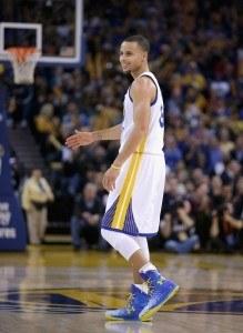 Stephen Curry lienee tämän hetken paras koripalloilija maailmassa. (Getty)