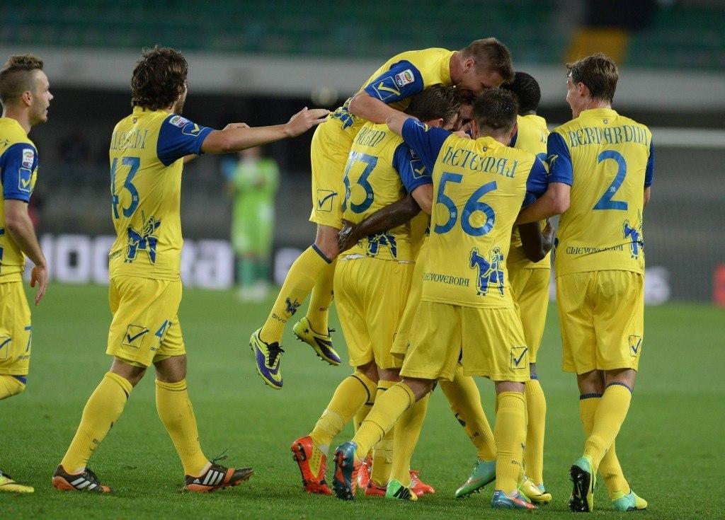 Chievo on joukkue, joka pelaa isolla sydämellä (Getty)