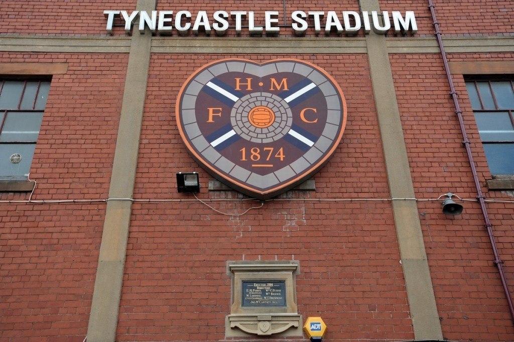 Hearts on pelannut Tynecastle Stadiumilla vuodesta 1886 lähtien. KUVA: Getty Images