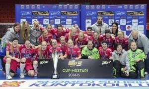 Naisten Cup-voittaja Classic. (AOP)