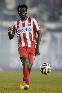 Delvin Ndinga pelaa isossa roolissa Kreikan Olympiakosissa. (Getty)