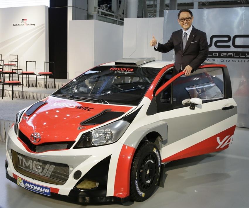Toyota palaa vuonna 2017 WRC-sarjaan (AOP)