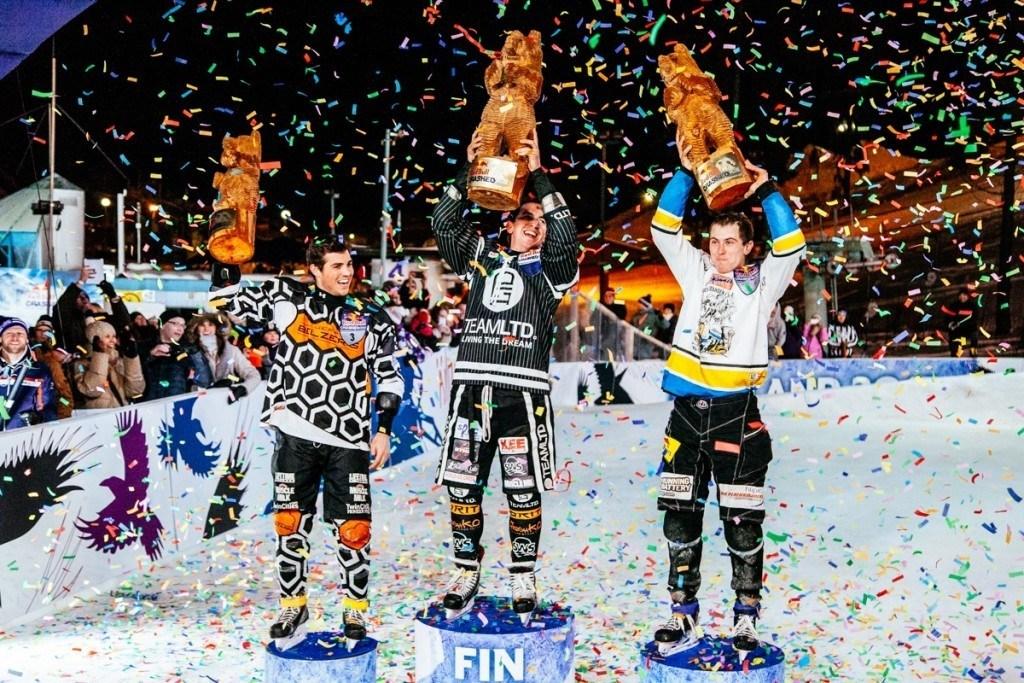 Nousevatko alamäkiluistelijat palkintokorokkeelle jonain päivänä myös olympialaisissa? Kuva: Niko Karumaa