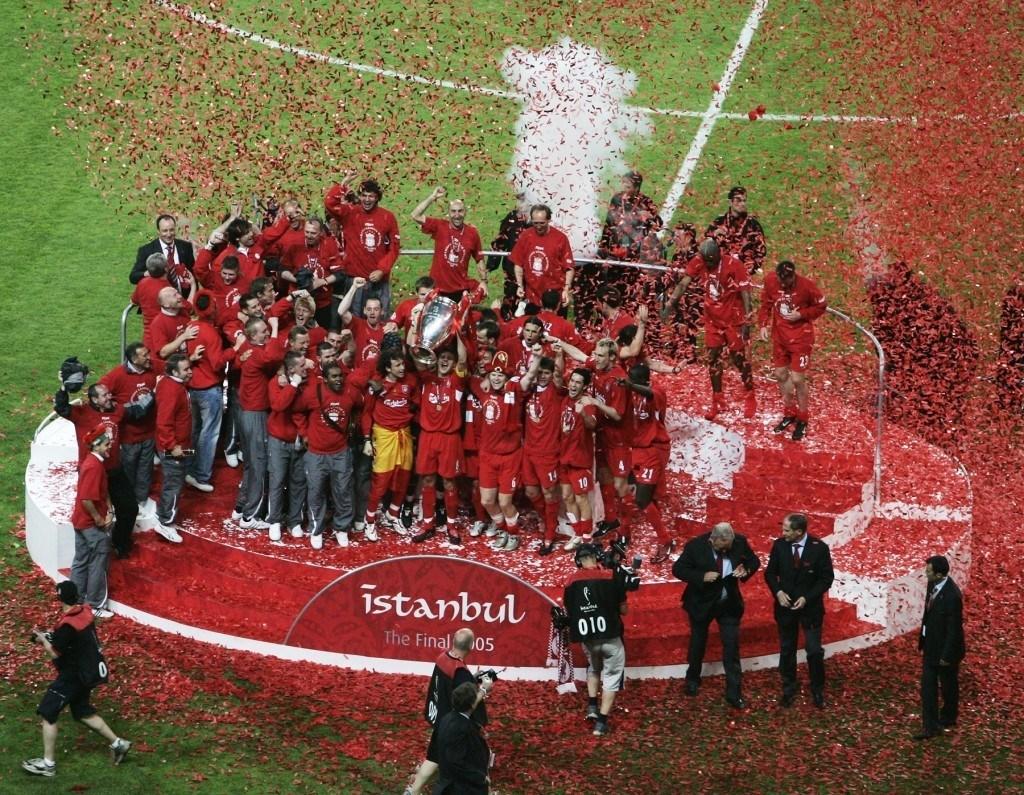 2000-luvun Liverpool muistetaan ennen kaikkea tästä vuoden 2005 UCL-voitosta. KUVA: Getty Images