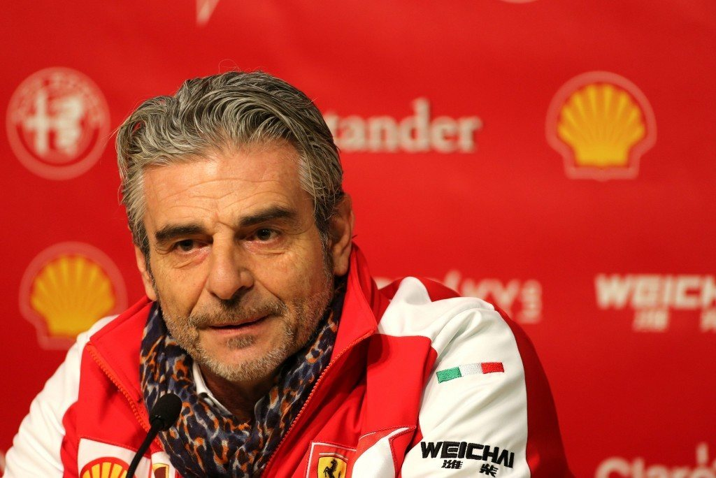 Maurizio Arrivabene lupaa kävellä Maranellon kukkuloille neljästä voitosta (AOP)