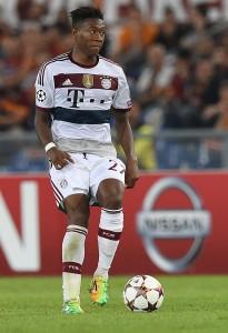Monipuolinen David Alaba kuuluu Pep Guardiolan ehdottomiin luottopelaajiin. (Getty)