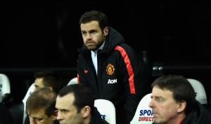 Juan Mata on pudonnut penkinlämmittäjäksi. Kuva: Getty