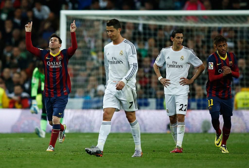 Messi on tällä hetkellä hieman Ronaldoa perässä, mutta kaikki voi olla toisin tämän illan jälkeen (Getty)