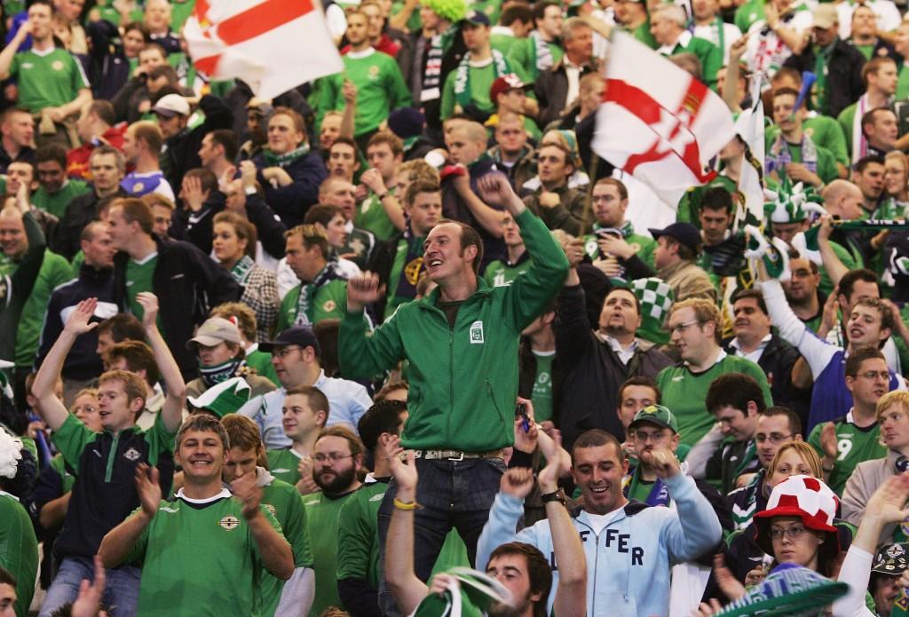 EM-karsinnat ovat olleet tähän saakka Pohjois-Irlannin kannattajille yhtä juhlaa. KUVA: Getty Images