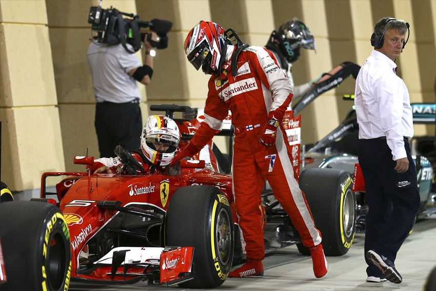 Pystyykö Ferrari haastamaan Mercedeksen rengasedun turvin? (AOP)