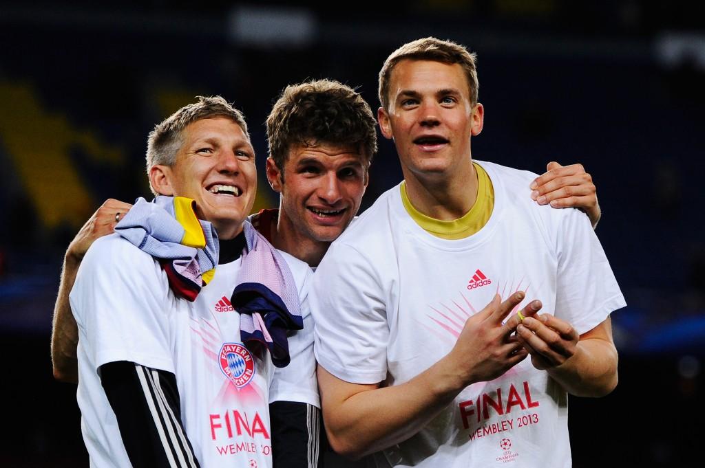 Bayernin edellinen vierailu Barcelonassa päättyi saksalaisten juhliin (Getty)