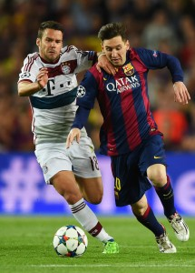 Bernat oli Guardiolan luottamuksen arvoinen. (Getty)