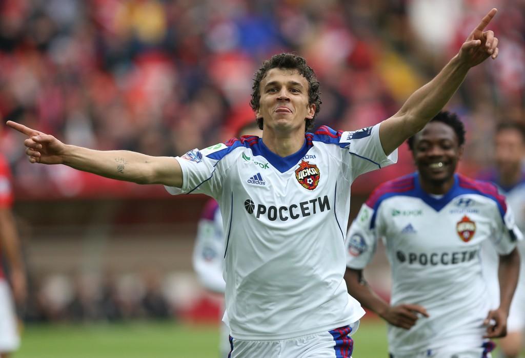 Roma pelasi uskomattoman kauden CSKA Moskovassa. (AOP)