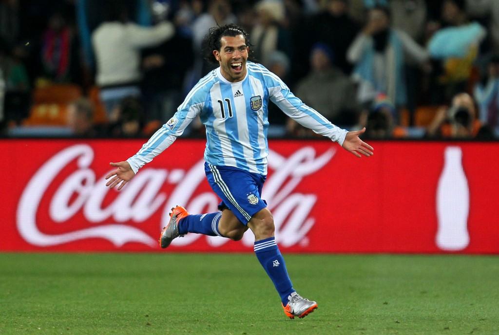 Carlos Tevez tekee odotetun paluun maajoukkueeseen neljän vuoden jälkeen. Kuva: Getty