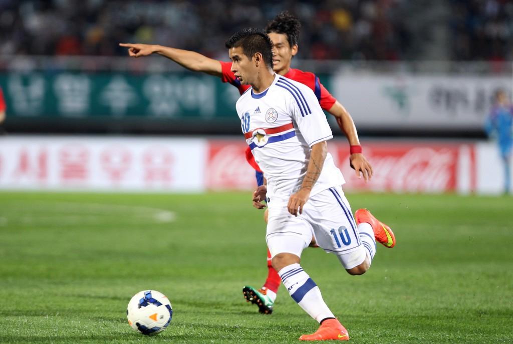 Derlis González on yksi Paraguayn lupaavimpia nuoria pelaajia. Kuva: Getty