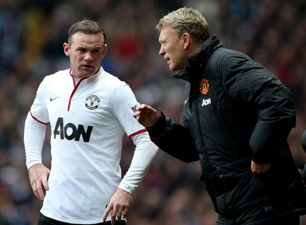 Rooneyn ja Moyesin yhteistyö toimi niin kentällä kuin sen ulkopuolellakin. Kuva: AOP