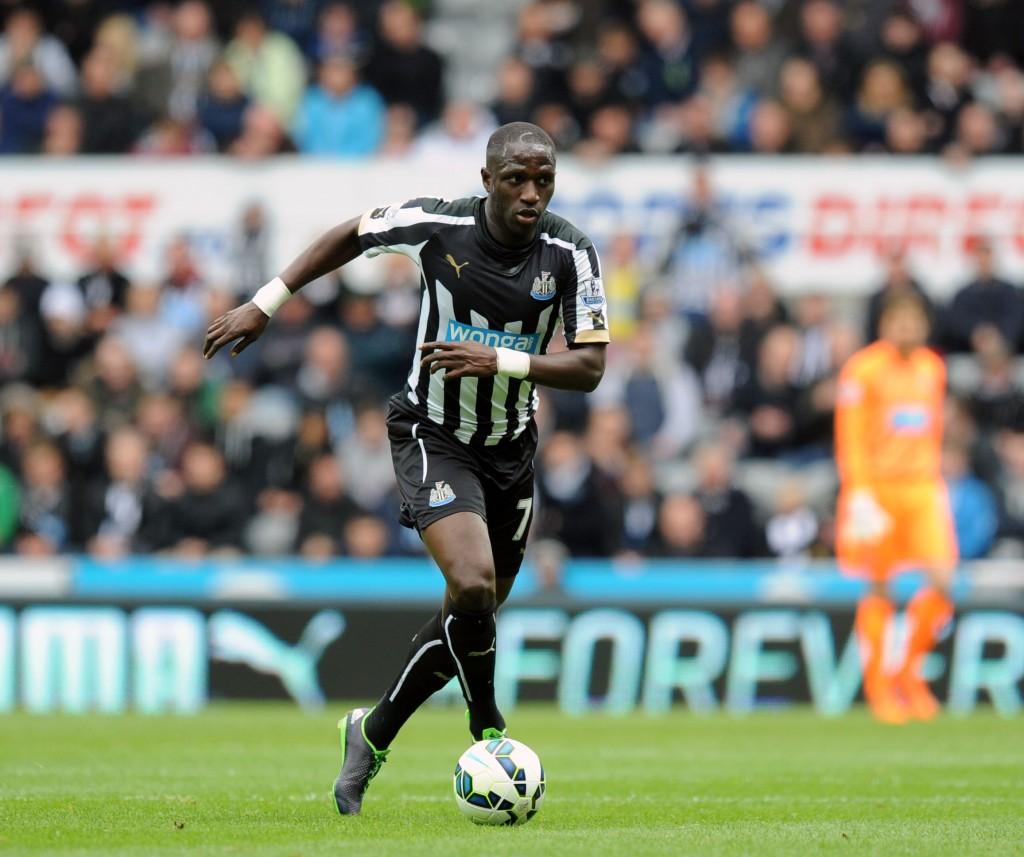 Moussa Sissoko on ottanut Newcastlessa isoja kehitysaskelia. Kuva: AOP