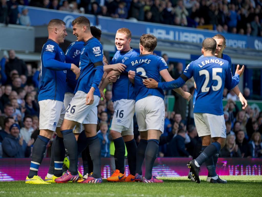 Everton lähtee suosikkina kauden avausotteluunsa. Kuva: AOP