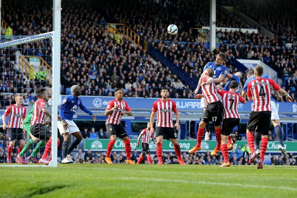 Southampton ja Everton taistelevat kauden avausvoitosta lauantaina. Kuva: AOP