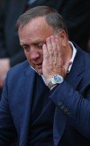 Onko Dick Advocaat ensimmäinen potkut saava manageri? Kuva: Getty