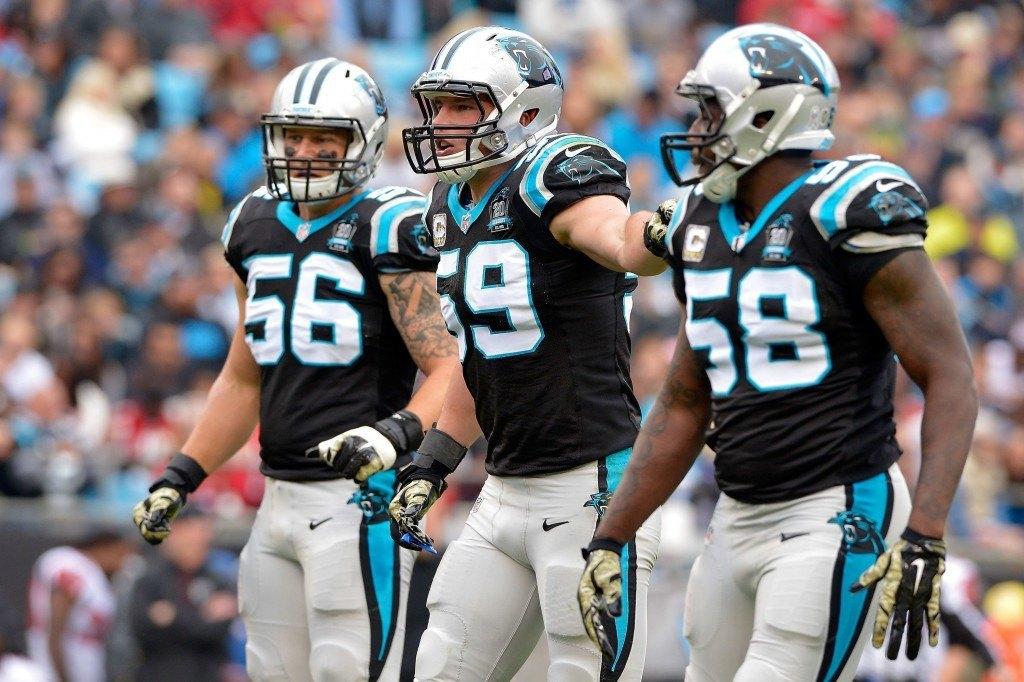 Panthersin tukimies-osasto tulee olemaan Luke Kuechlyn ja Thomas Davisin johdolla jälleen sarjan paras