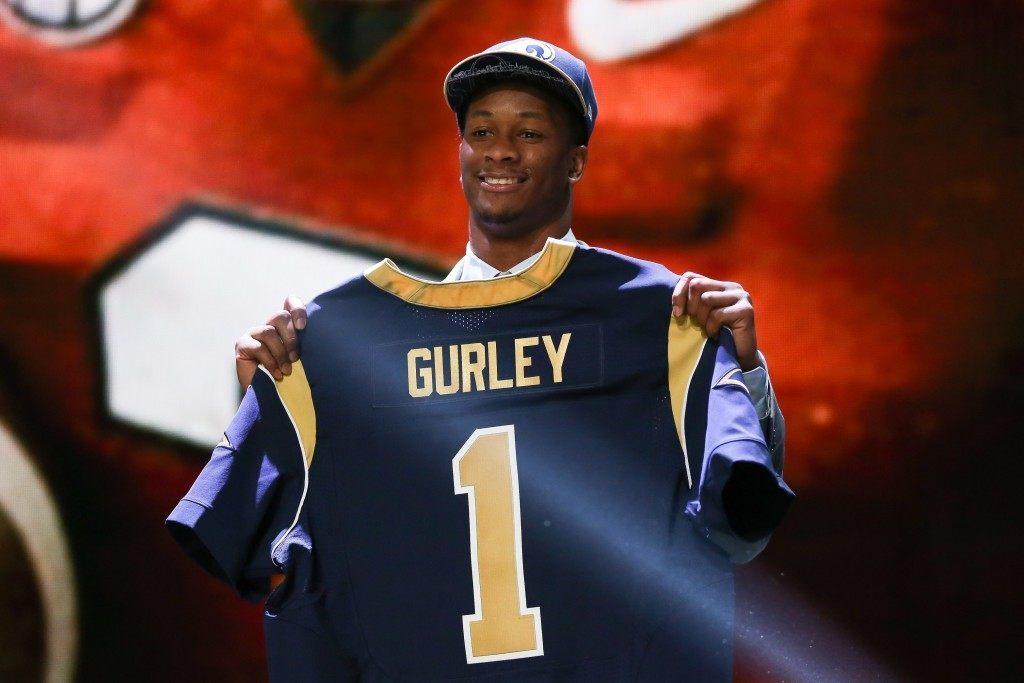 Todd Gurley tulee olemaan heti ensimmäisellä kaudellaan Ramsille erittäin tärkeä pelaaja.