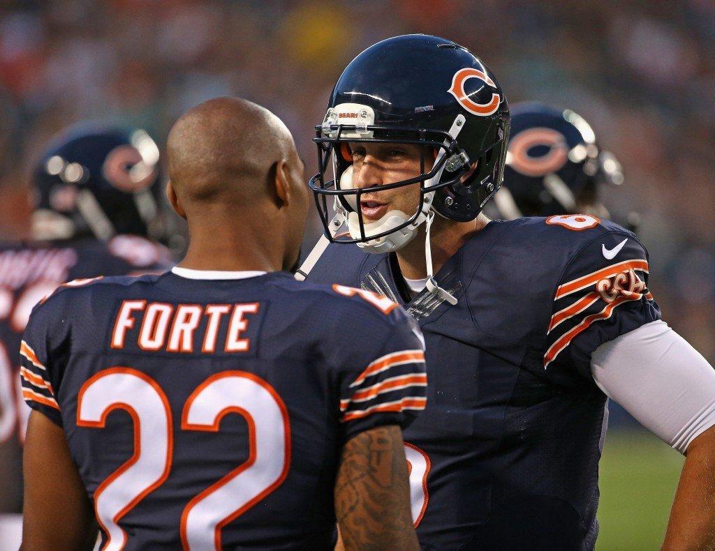 Iloinen Jay Cutler tulee olemaan Matt Forten ohella Bears hyökkäyksen tärkeimpiä pelaajia