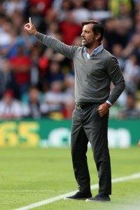 Watford-manageri Quique Flores pisti paletin täysin uusiksi. Kuva: Getty