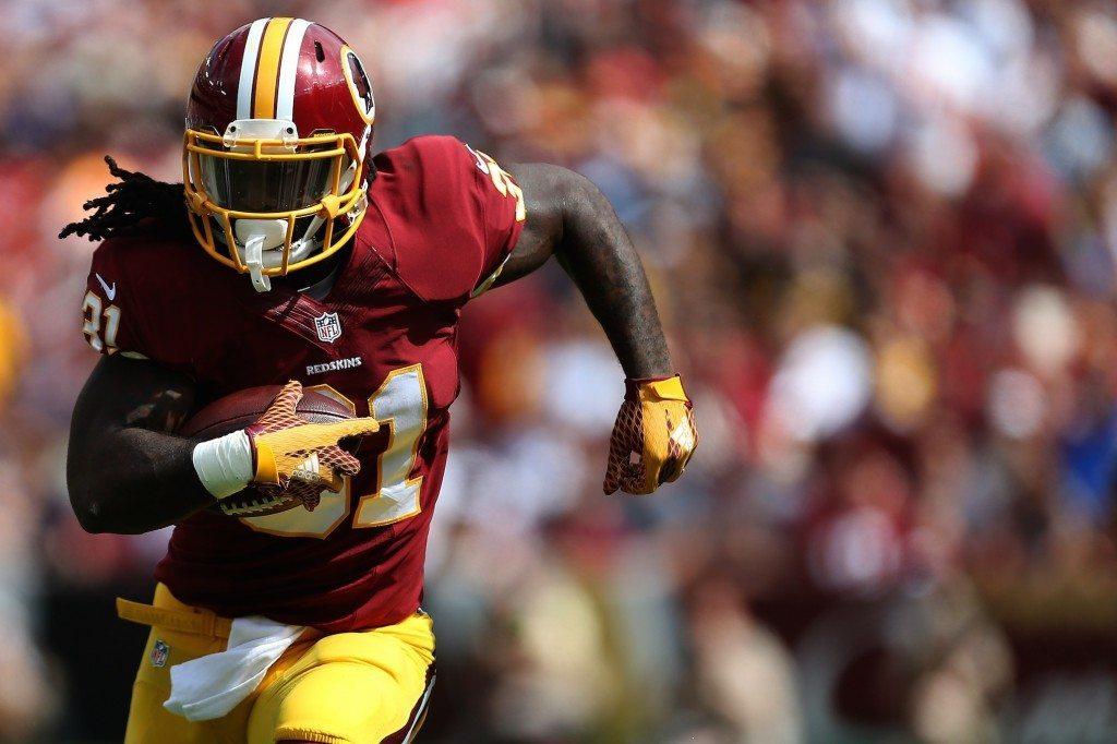 Hurjassa vireessä viime ottelussa ollut Redskinsin tulokaskeskushyökkääjä Matt Jones on uuden haasteen edessä. [Getty]