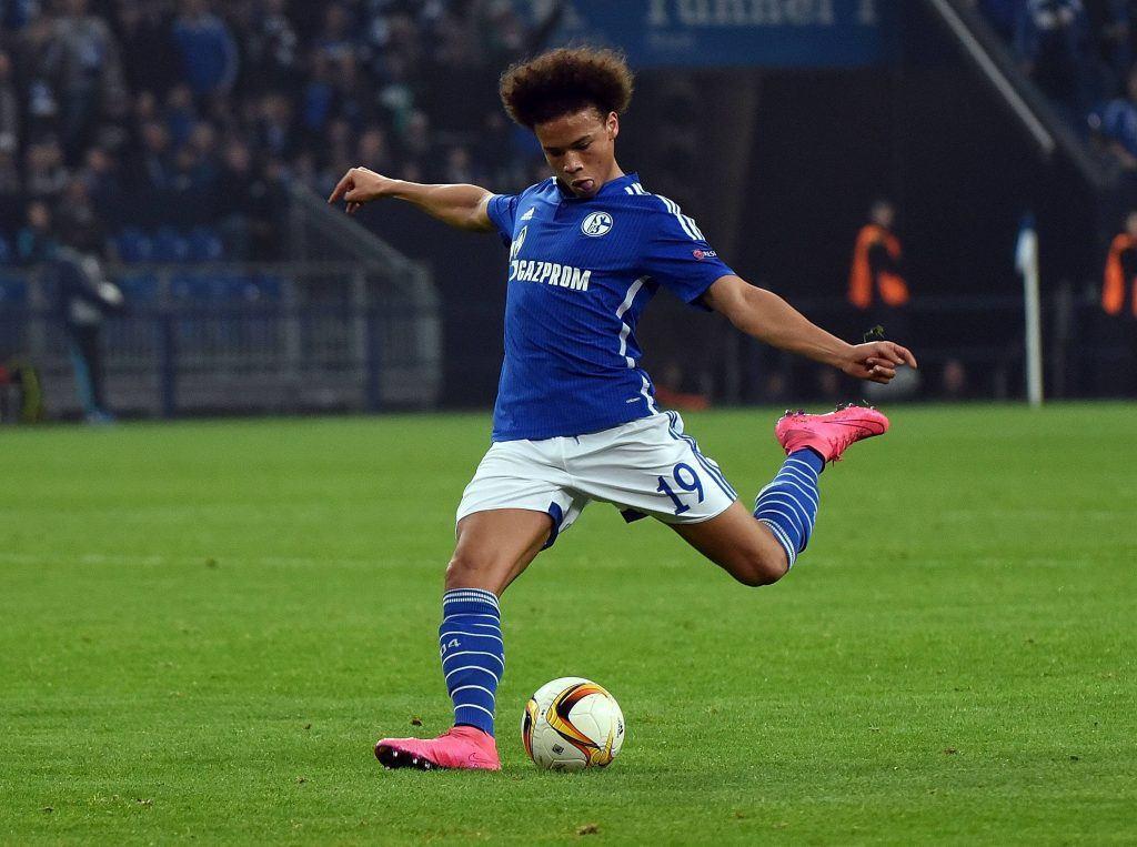 19-vuotias Leroy Sane on neljällä maalillaan Schalken paras maalintekijä Bundesliigassa. Kuva: AOP