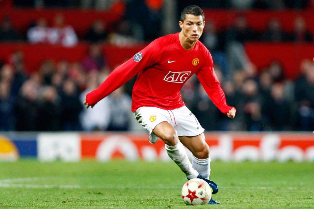 Ronaldo pelasi Unitedissa kuuden kauden ajan ja nousi fanien suureen suosioon. Kuva: AOP