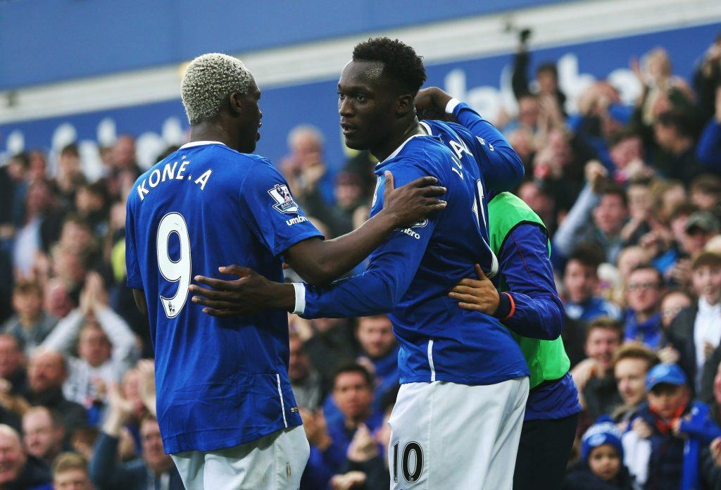 during the Barclays Premier League match between Everton and Sunderland at Goodison Park on November 1, 2015 in Liverpool, England.