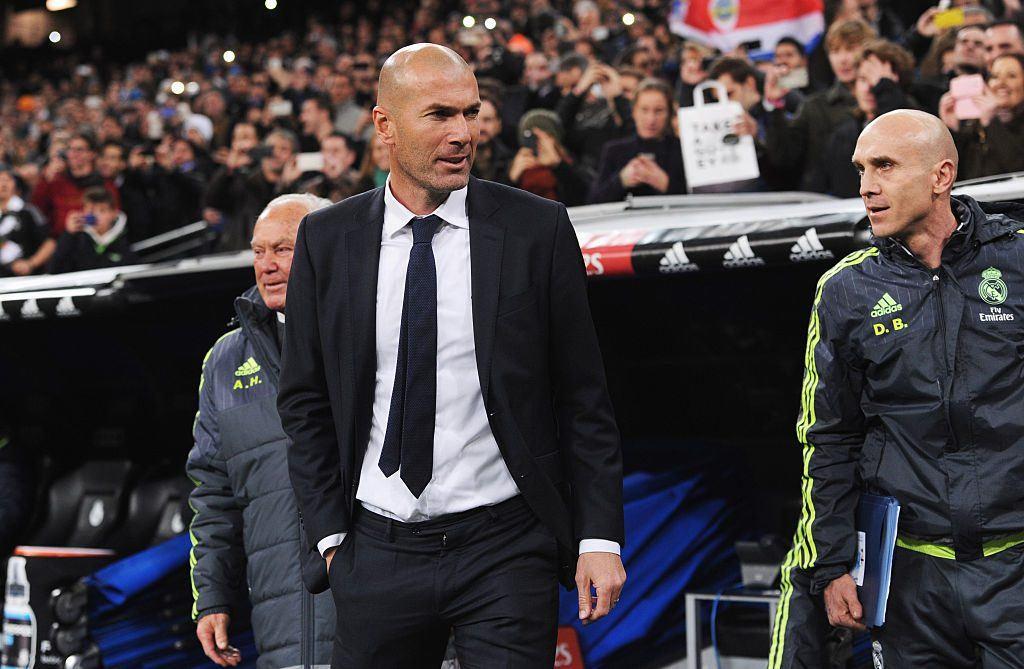 Zidanen päävalmentajapesti alkoi komealla 5-0 -voitolla Deportivosta. Kuva: Getty