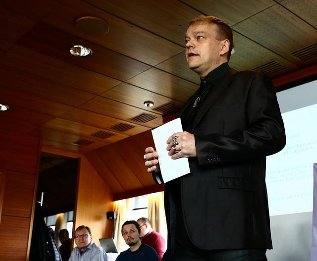 Kurre Westerlund pyysi mukaan Viikinkeihin. Kuva: Juhani Järvenpää