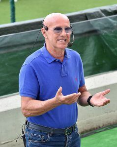 Arrigo Sacchi on Conten jalkapalloilullinen oppi-isä. (Getty)