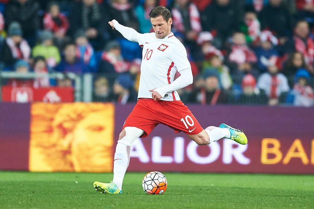 Grzegorz Krychowiak on Lewandowskin ohella Puolan menestyksen kannalta merkittävimpiä tekijöitä (Getty)
