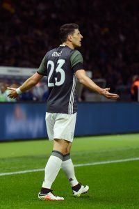 """""""Super-Mario"""" Gomez on jälleen Saksan maajoukkueessa. Kuva: Getty"""